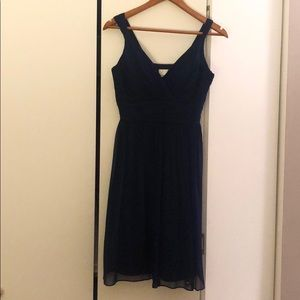 Donna Morgan Navy Blue Dress